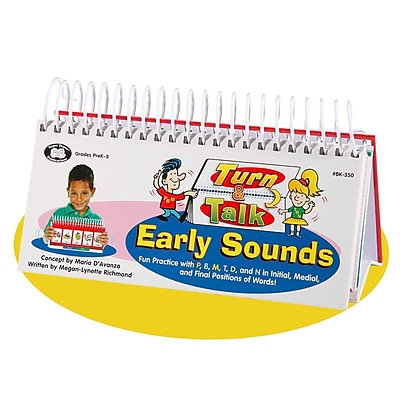 Super Duper® Turn & Talk® Early Sounds Flip Book