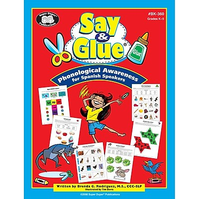 Super Duper® Phonological Awareness Book for Spanish Speakers