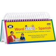 Super Duper® Spanish Word Flips® Book for Learning Intelligible Production of Speech