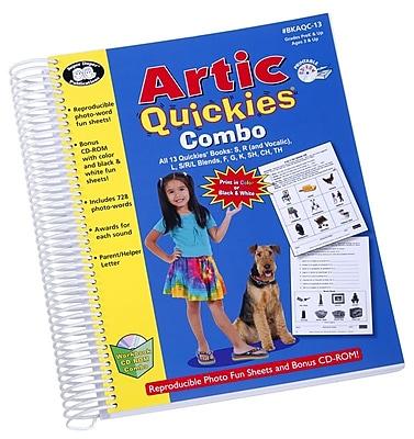 Super Duper® Artic Quickies Reproducible Photo Fun Sheets Book and CD-ROM Combo