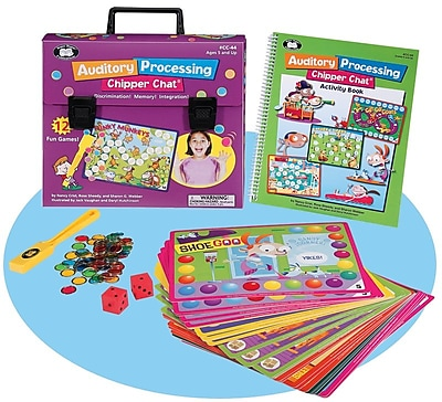 Super Duper® Auditory Processing Chipper Chat® Board Game