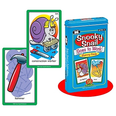 Super Duper® Snooky Snail™ Goes to Work Fluency Deck Card