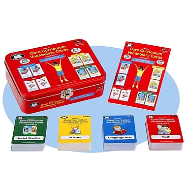 Super Duper® Webber® Level PreK-K Core Curriculum Vocabulary Cards