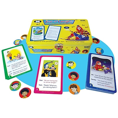 Super Duper® Just for Laughs™ Deck Cards For Understanding Multiple Meanings in Jokes
