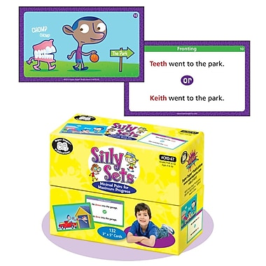 Super Duper® Silly Sets Minimal Pairs For Maximum Progress Deck Cards