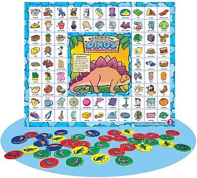 Super Duper® Descripto Dinos™ Vocabulary Game Board