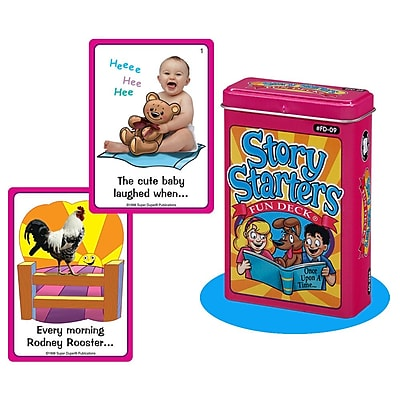 Super Duper® Story Starters Fun Deck® Cards