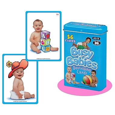 Super Duper® Busy Babies Describing Fun Deck® Cards