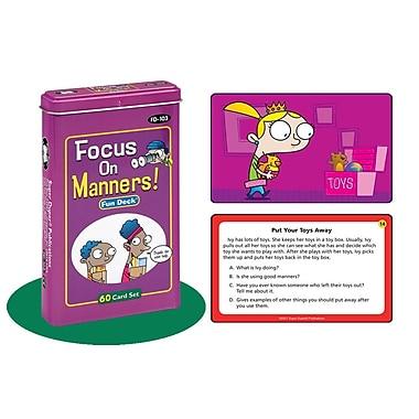 Super Duper® Focus on Manners! Fun Deck Cards