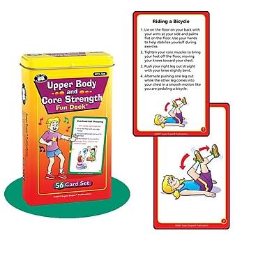 Super Duper® Upper Body and Core Strength Fun Deck Cards