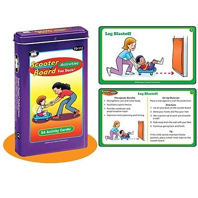 Super Duper® Scooter Board Activities Fun Deck Cards