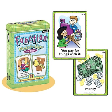 Super Duper® Function Match-Ups Fun Deck® Cards