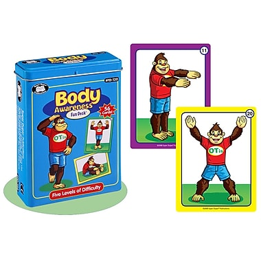 Super Duper® Body Awareness Fun Deck Cards