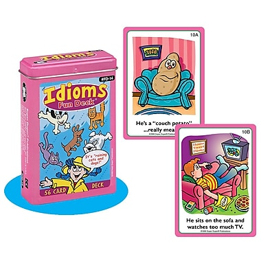 Super Duper® Idioms Fun Deck® Cards