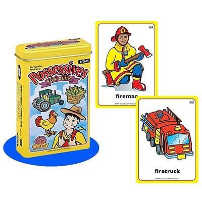 Super Duper® Possessives Fun Deck® Cards