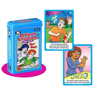 Super Duper® Difficult Situations Fun Deck Cards