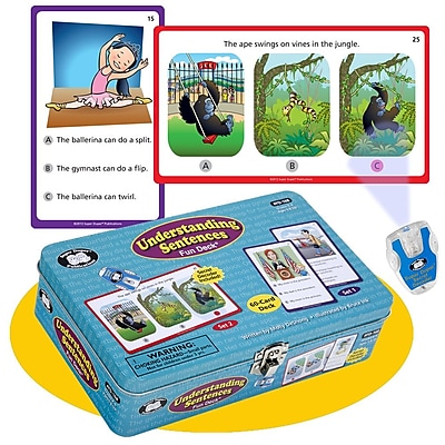 Super Duper® Understanding Sentences Fun Deck® Cards