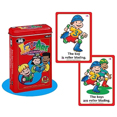 Super Duper® Is and Are Fun Deck® Cards