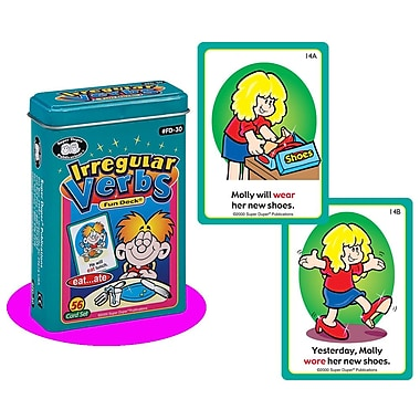 Super Duper® Irregular Verbs Fun Deck® Cards
