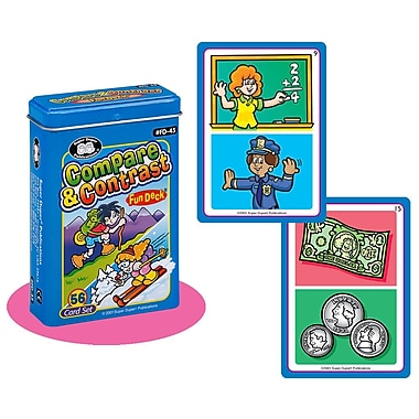 Super Duper® Compare and Contrast Fun Deck® Cards