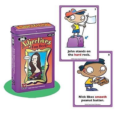 Super Duper® Adjectives Fun Deck Cards