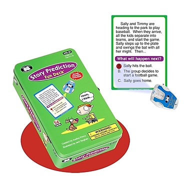 Super Duper® Story Prediction Fun Deck® Cards With Secret Decoder