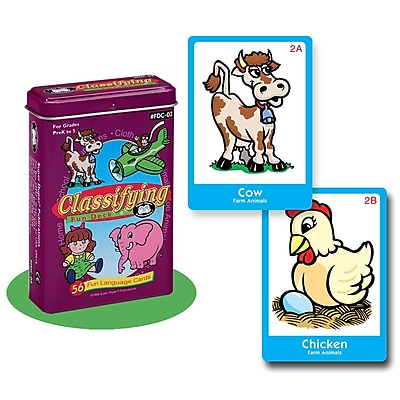 Super Duper® Classifying Fun Deck® Cards