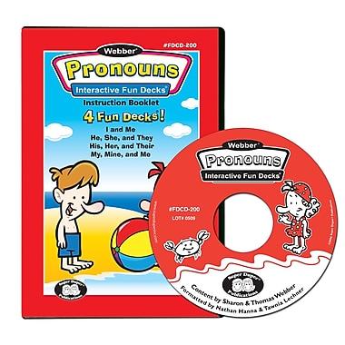 Super Duper® Webber® Pronouns Interactive Fun Decks® CD-ROM