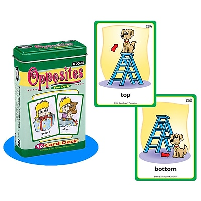 Super Duper® Opposites Fun Deck® Cards
