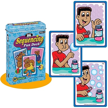 Super Duper® Sequencing Fun Deck® Cards