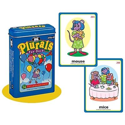 Super Duper® Plurals Fun Deck® Cards