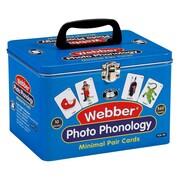 Super Duper® Webber® Photo Phonology Minimal Pair Deck Cards