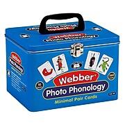 Super Duper® Webber® Photo Phonology Minimal Pair Deck Cards, 10/Set