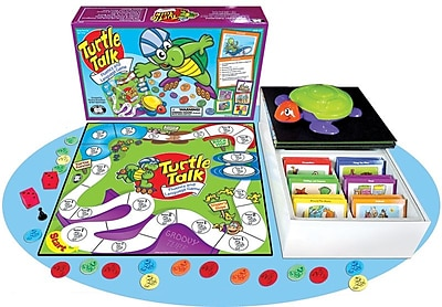Super Duper® Turtle Talk® Fluency and Language Game Board