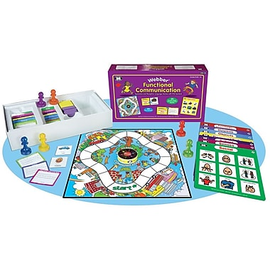 Super Duper® Webber® Functional Communication Expressive and Receptive Language Game Board