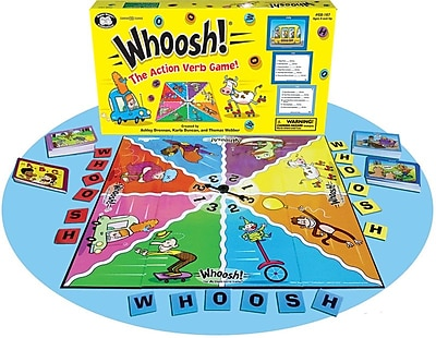 Super Duper WHOOSH! Action Verb Card Game
