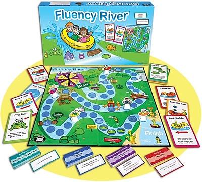Super Duper® Fluency River® Game Board