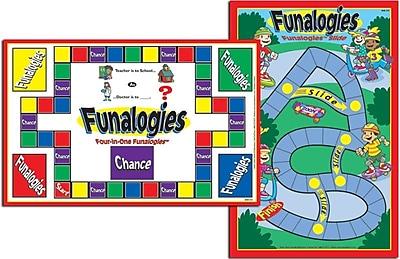 Super Duper® Funalogies® Laminated Analogies Game Board