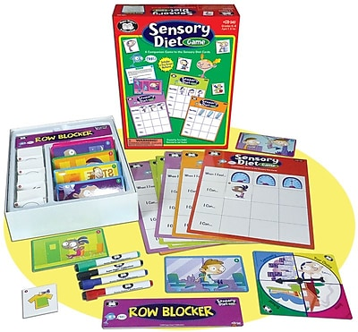 Super Duper Sensory Diet Card Game