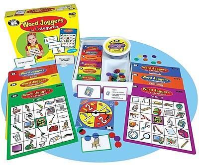 Super Duper® Word Joggers® for Categories Fun Bingo Game