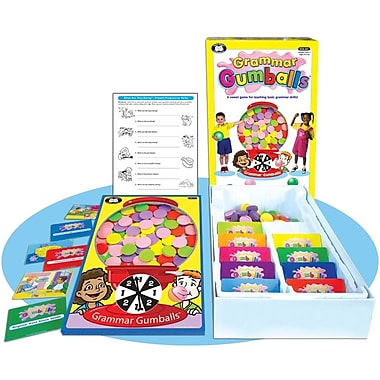 Super Duper® Grammar Gumballs® Game Board