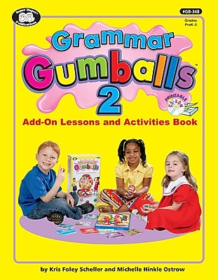 Super Duper Grammar Gumballs 2 Add-On Lessons and Activities Book 308153