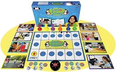Super Duper® Cool in School™ Photo Fun Communication Game Board