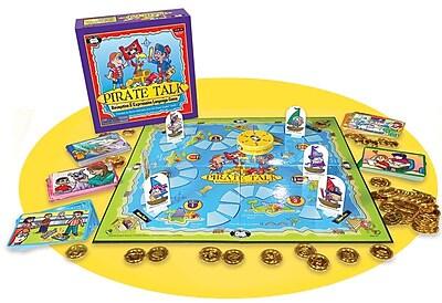 Super Duper® Pirate Talk® Receptive & Expressive Language Game Board