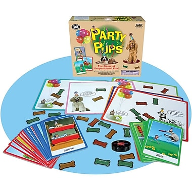 Super Duper® Party Pups™ The Game Board of Prepositional Fun