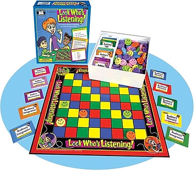 Super Duper® Look Who's Listening® Game Board