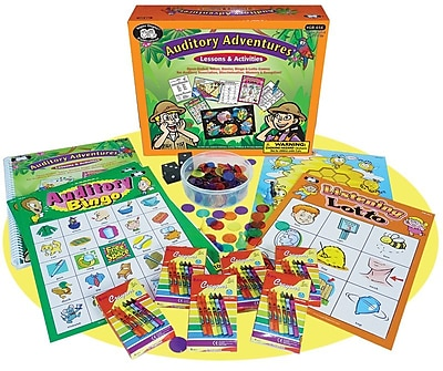 Super Duper Auditory Adventures Game Board 308171
