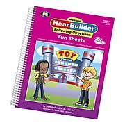 Super Duper® Webber® HearBuilder® Following Directions Fun Sheets, Grades PreK–3