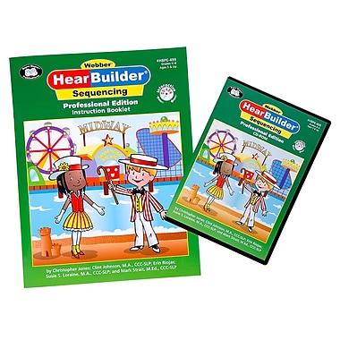 Super Duper® Webber HearBuilder® Sequencing Software Program PRO CD