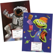 Super Duper® Super 10 Space Age Homework Folder